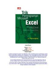 (2) Trik Pemrograman Microsoft Excel.pdf