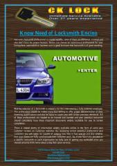 Know Need of Locksmith Encino.pdf
