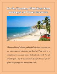 Go On Vacation With Best Tour packages At Travel Recourse.pdf
