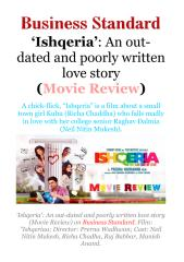 'Ishqeria'- An out-dated and poorly written love story (MovieReview).pdf
