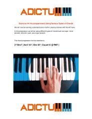 001 Exercise 44 Accompaniment Using Various Types of Chords - Lesson Notes.pdf